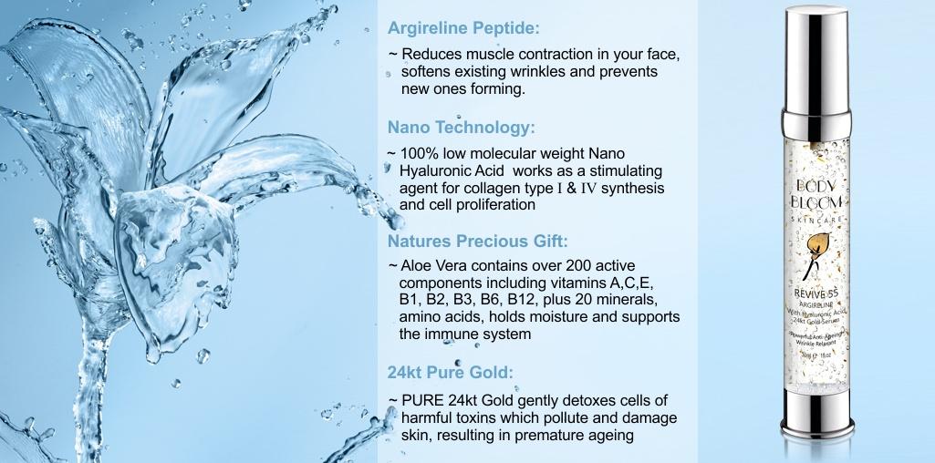 Argireline Anti Wrinkle Peptide Serum With Hyaluronic Acid